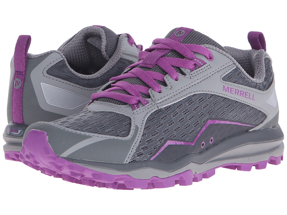 Merrell - All Out Crush (Grey/Purple) Women