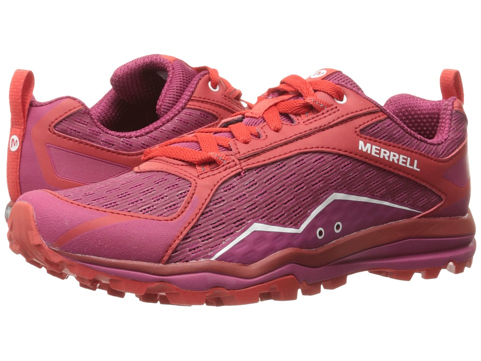 Merrell - All Out Crush (Bright Pink) Women's Shoes