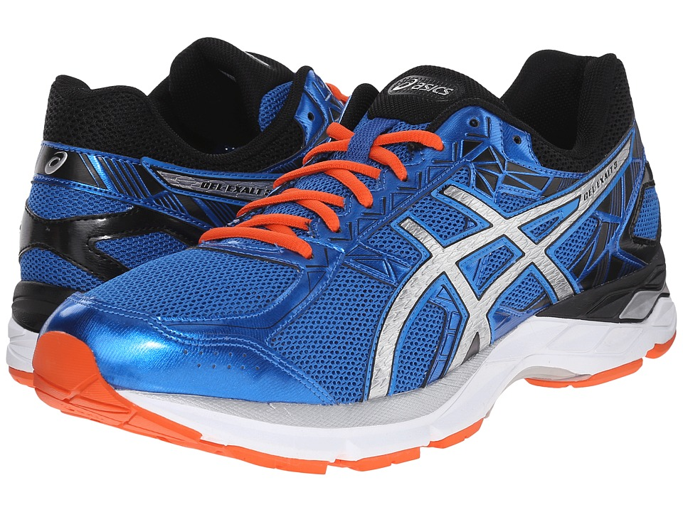 ASICS - Gel-Exalt 3 (Electric Blue/Silver/Fiesta) Men's Running Shoes