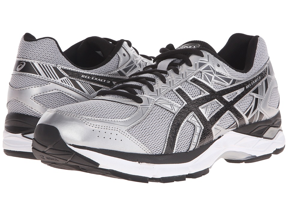ASICS - Gel-Exalttm 3 (Silver/Black/Storm) Men's Running Shoes