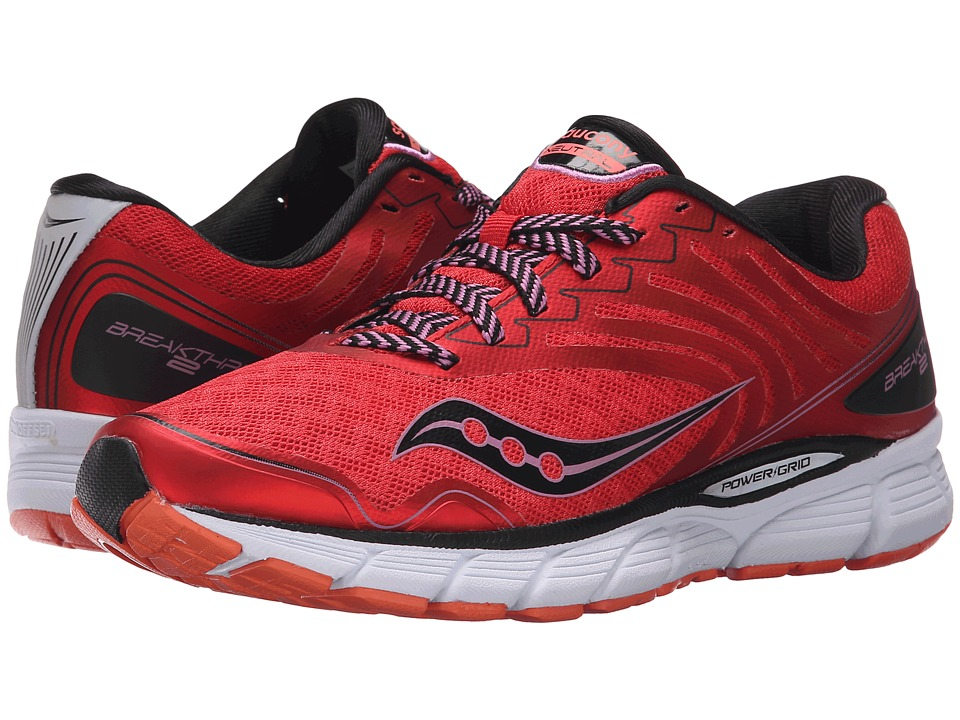 Saucony - Breakthru 2 (Purple/Black/Pink) Women's Shoes