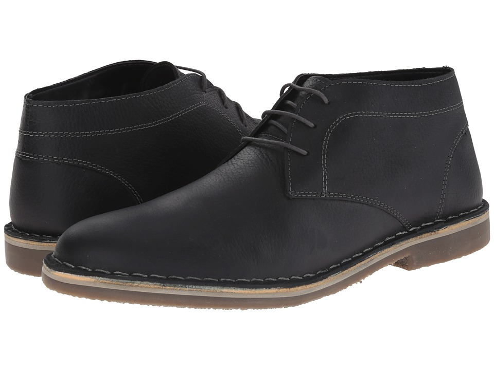 Kenneth Cole Reaction - Desert Canyon (Black Leather) Men's Lace up casual Shoes