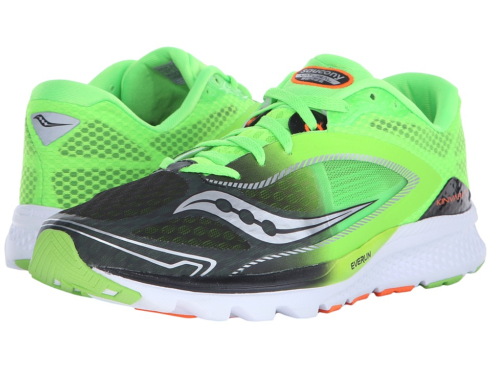 Saucony - Kinvara 7 (Slime/Black) Men's Shoes