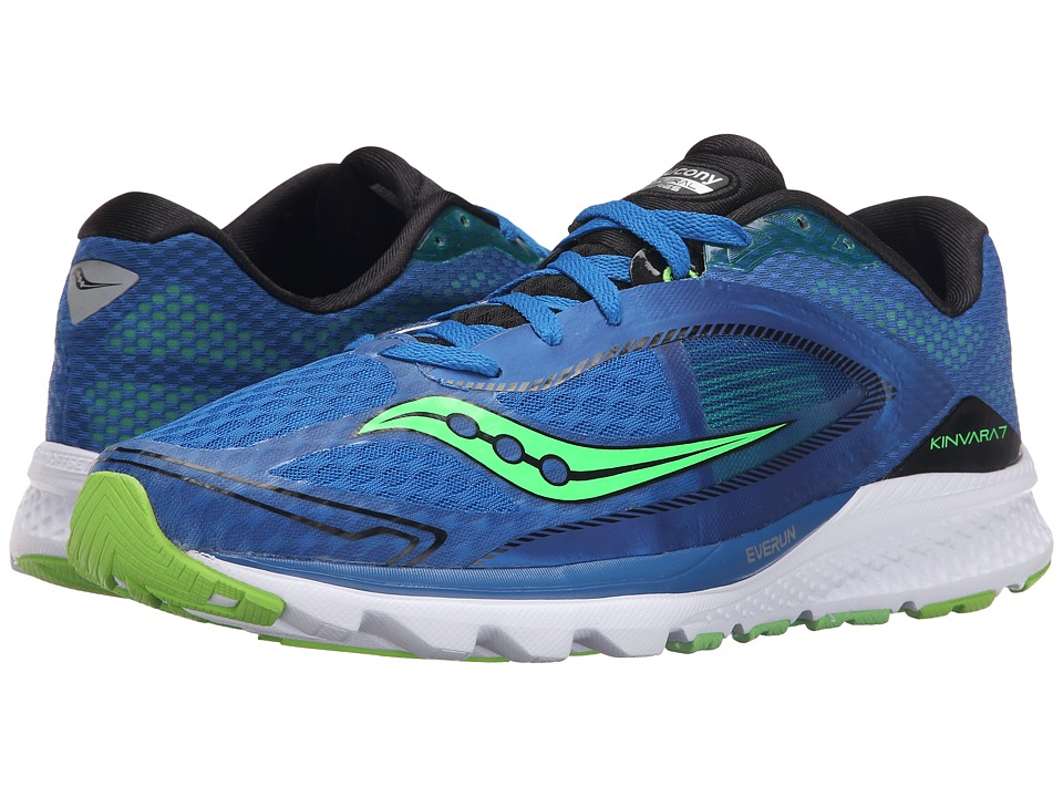 Saucony - Kinvara 7 (Blue/Black) Men's Shoes
