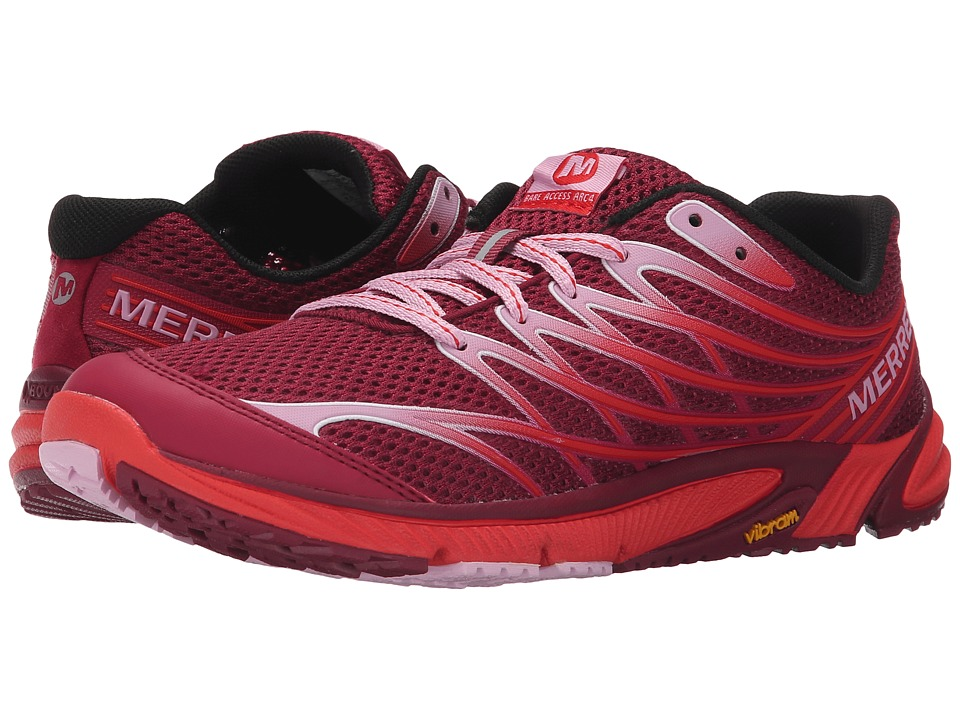 Merrell - Bare Access Arc 4 (Bright Red) Women's Shoes