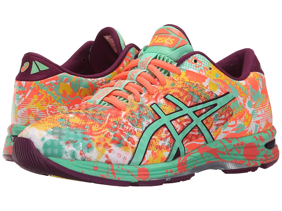 ASICS - Gel-Noosa Tri 11 (Flash Coral/Spring Bud/Sun) Women's Running Shoes