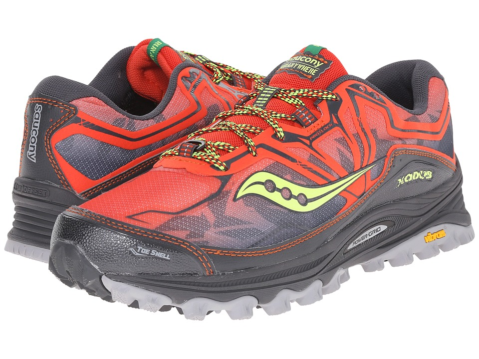 Saucony - Xodus 6.0 (Red/Black) Men's Running Shoes