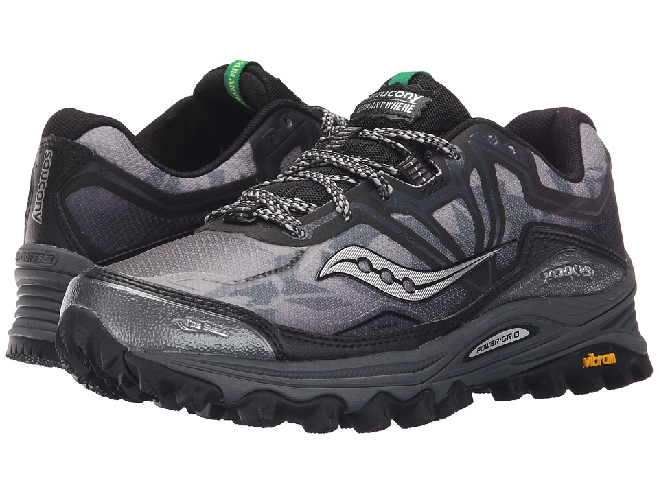 Saucony - Xodus 6.0 (Black) Men's Running Shoes