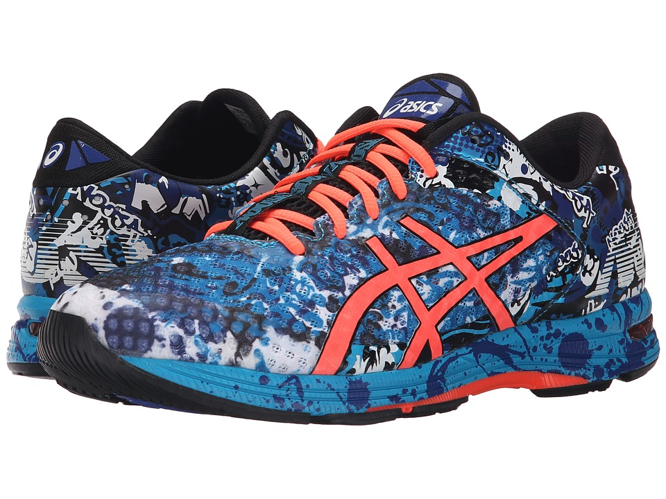 ASICS - Gel-Noosa Tri 11 (Island Blue/Flash Coral/Black) Men's Running Shoes