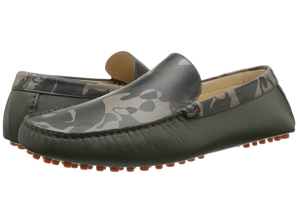 Alexander McQueen - Camo Driver (Camo Print) Men's Shoes