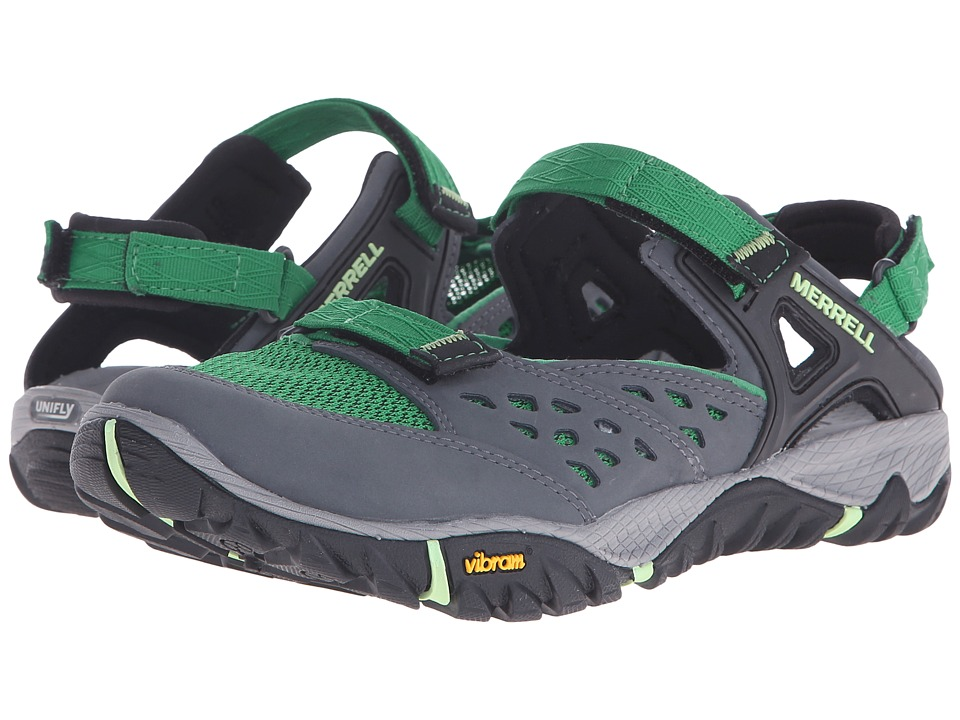 Merrell - All Out Blaze Sieve MJ (Medium Green) Women's Shoes