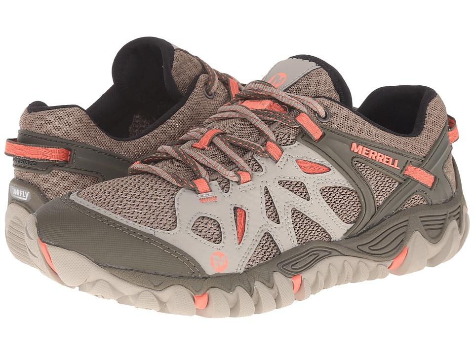 Merrell - All Out Blaze Aero Sport (Beige/Khaki) Women's Shoes