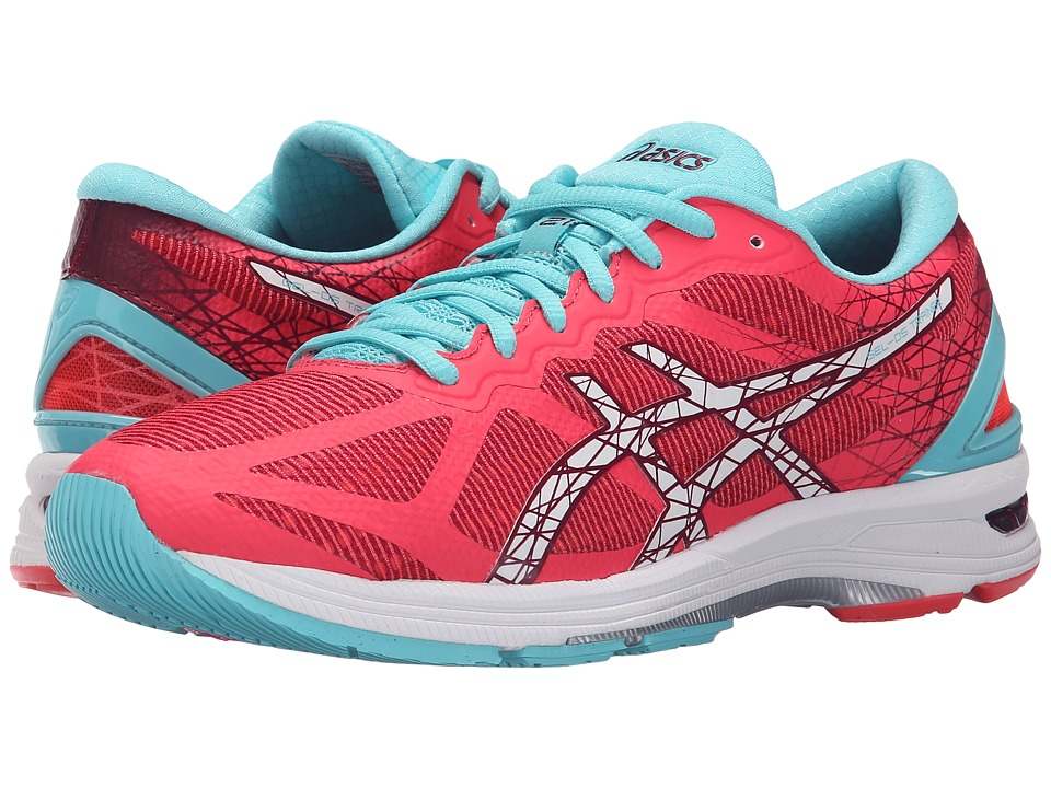 ASICS - GEL-DS Trainer 21 (Diva Pink/White/Turquoise) Women's Running Shoes