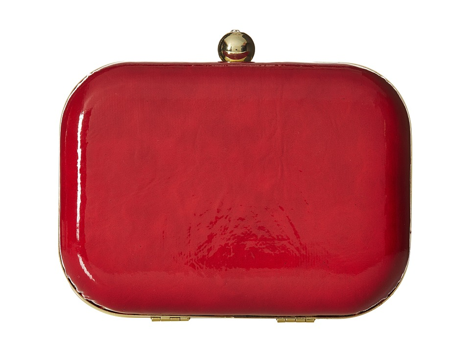 Jessica McClintock - Roxie Clutch (Red) Clutch Handbags