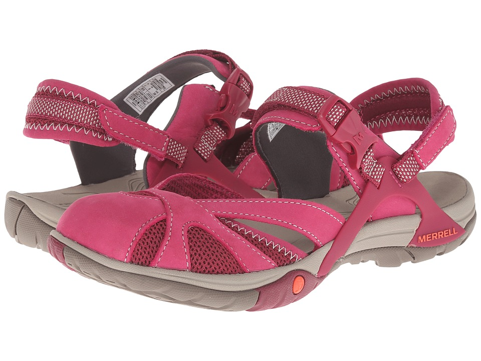 Merrell - Azura Wrap (Raspberry) Women's Shoes