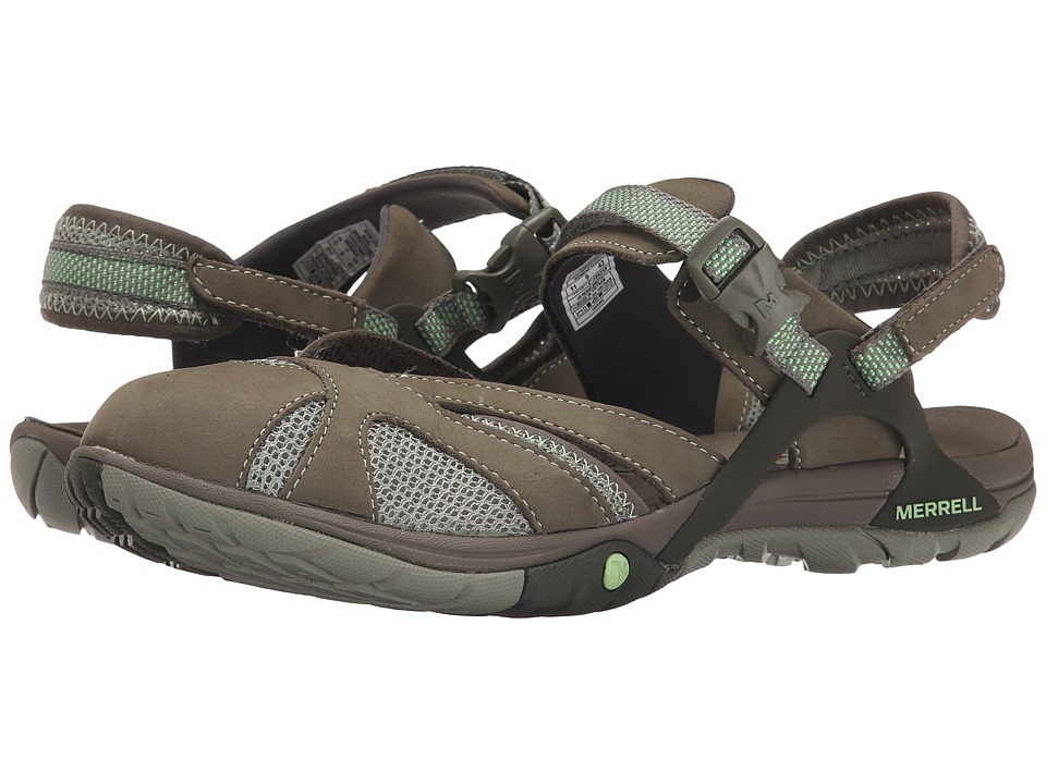 Merrell - Azura Wrap (Medium Green) Women