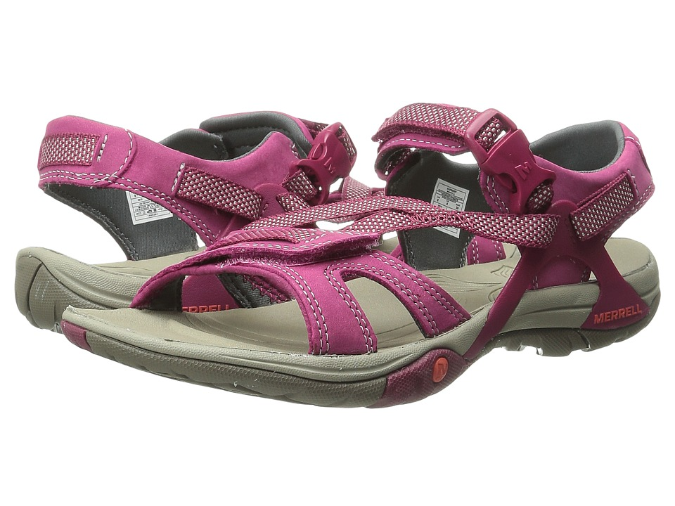 Merrell - Azura Strap (Raspberry) Women's Shoes