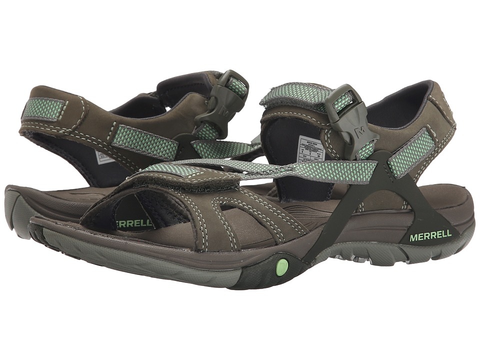 Merrell - Azura Strap (Medium Green) Women