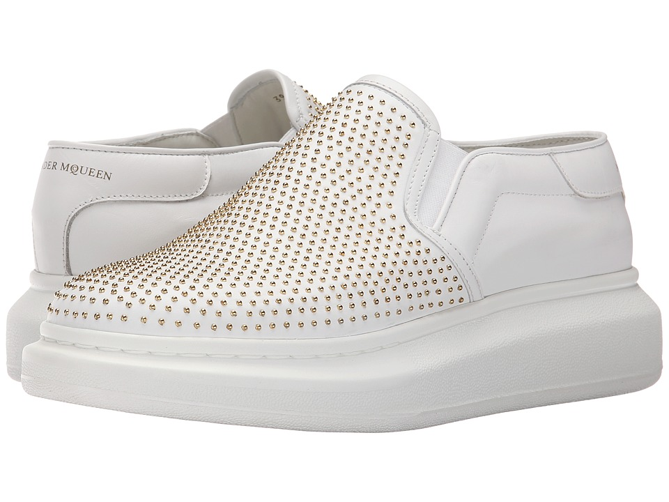 Alexander McQueen - Lilliput Platform Sneaker (White) Men's Shoes