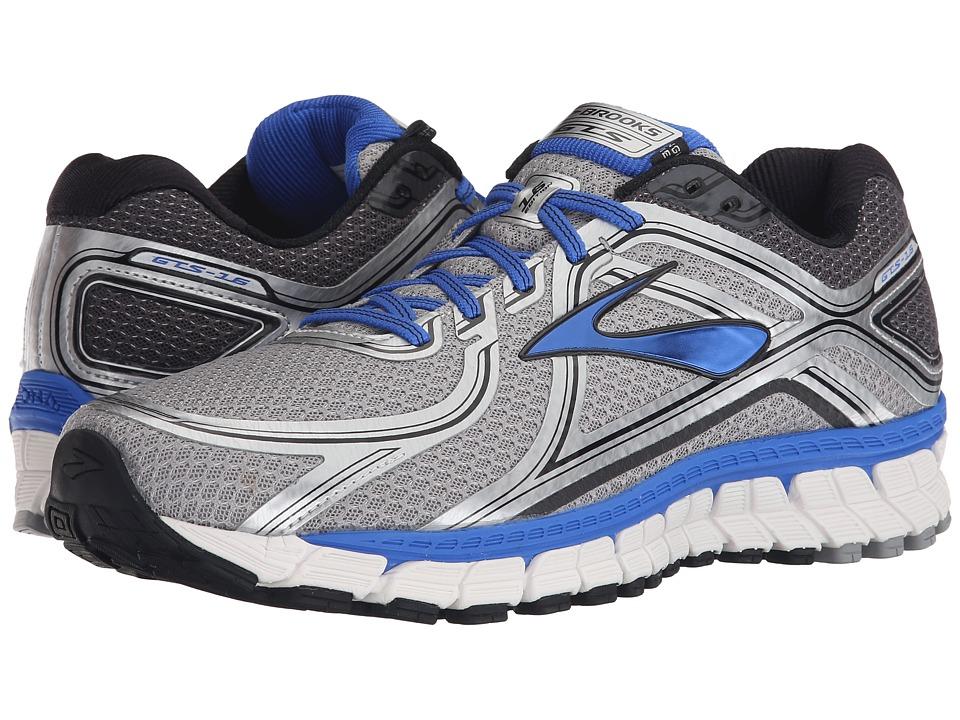 Brooks - Adrenaline GTS 16 (Silver/Electric Brooks Blue/Black) Men's Running Shoes