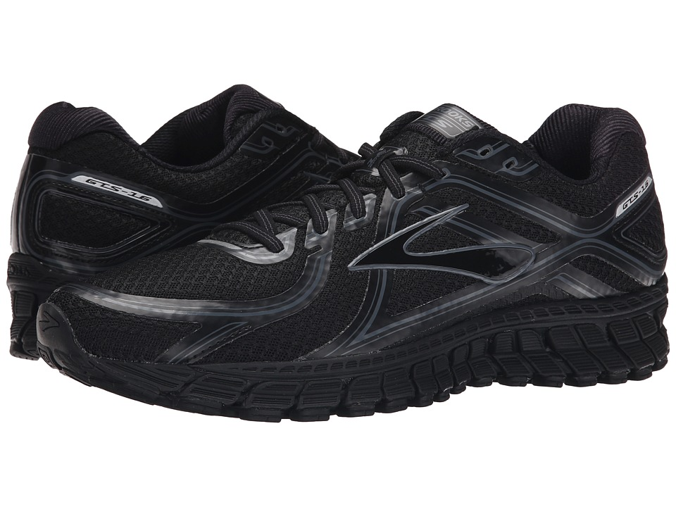 Brooks - Adrenaline GTS 16 (Black/Anthracite) Men's Running Shoes