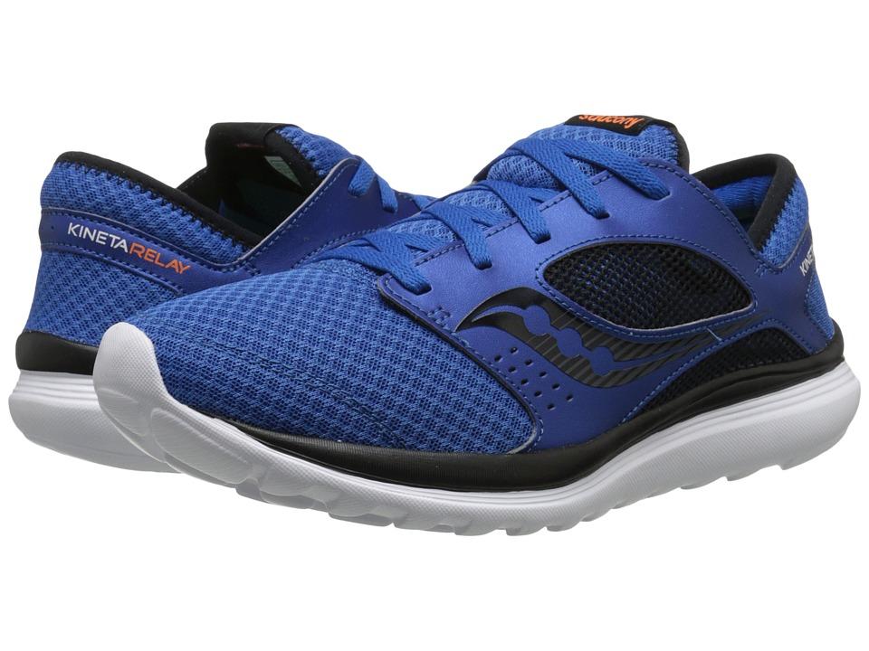 Saucony - Kineta Relay (Royal/Black) Men's Running Shoes