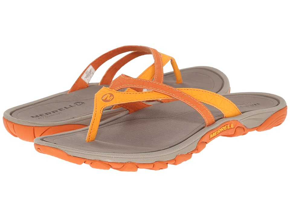 Merrell - Enoki Flip (Orange) Women's Sandals