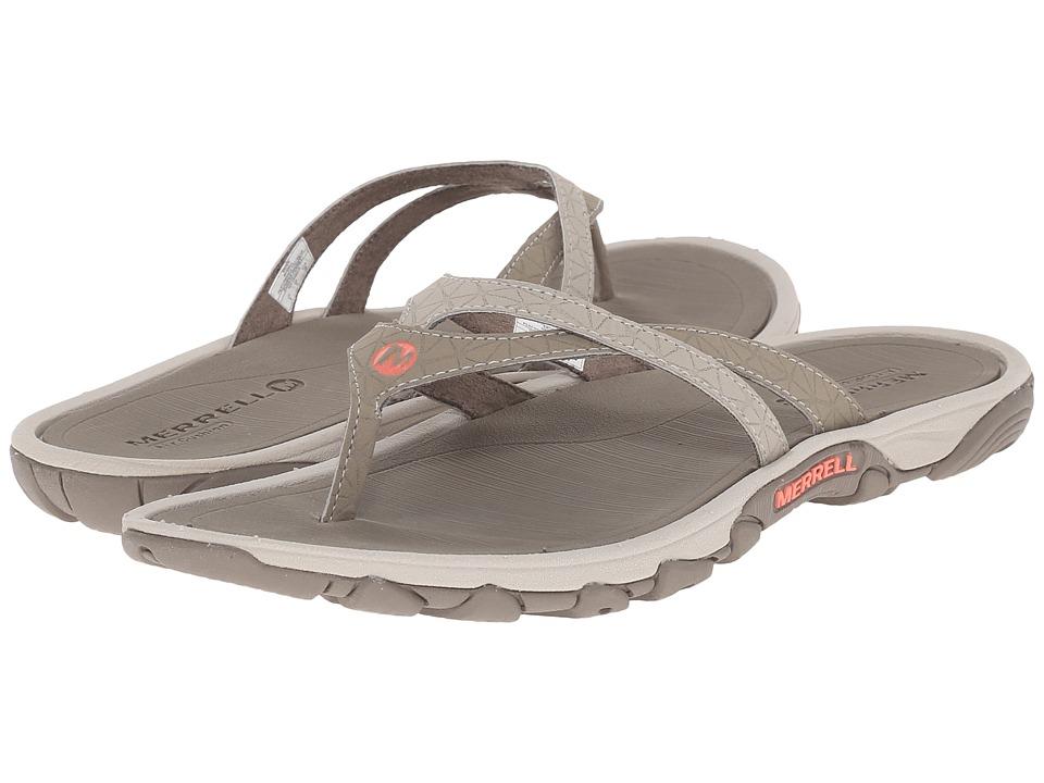 3599 More Details  Merrell  Enoki Flip Brown Womens Sandals