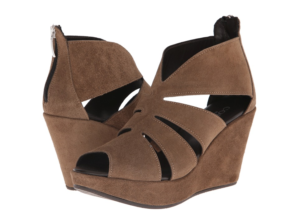 Cordani - Rollins (Hazelnut Suede) Women's Wedge Shoes