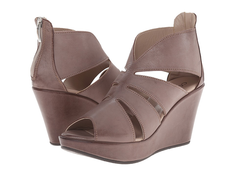 Cordani - Rollins (Brown Distressed Leather) Women's Wedge Shoes