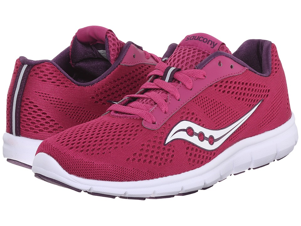 Saucony - Ideal (Berry/White) Women's Shoes
