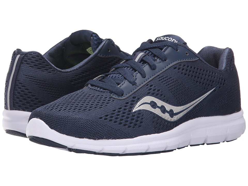 Saucony - Ideal (Navy/Silver) Women's Shoes