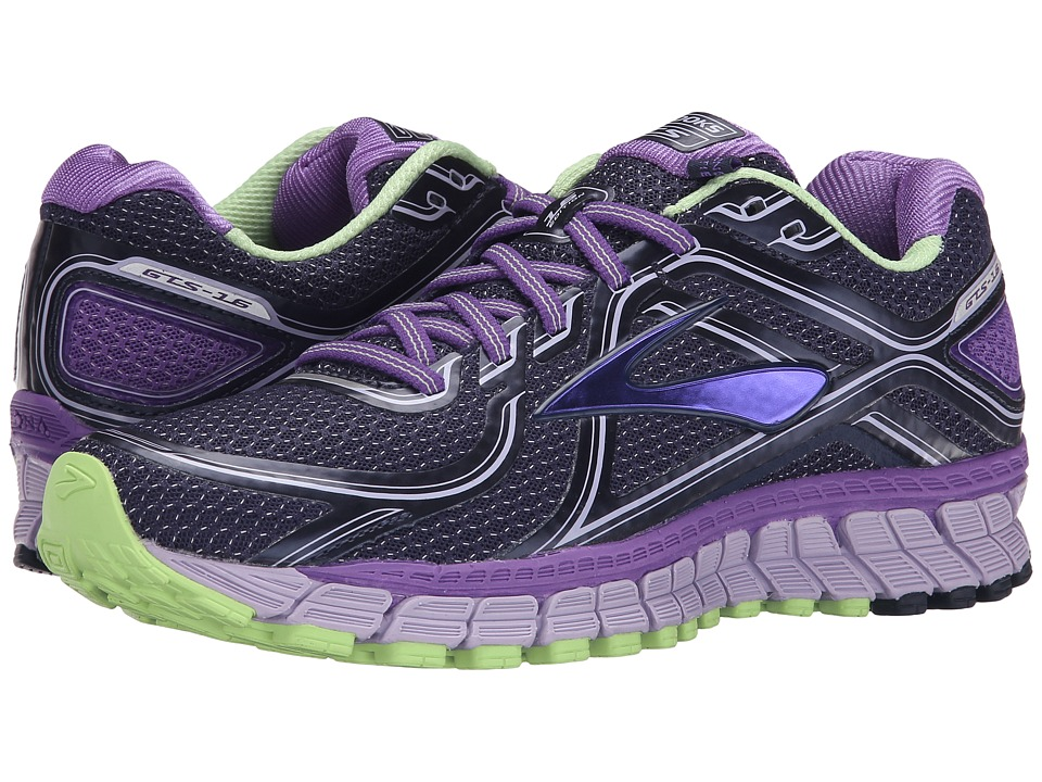 Brooks - Adrenaline GTS 16 (Passion Flower/Lavender/Paradise Green) Women's Running Shoes
