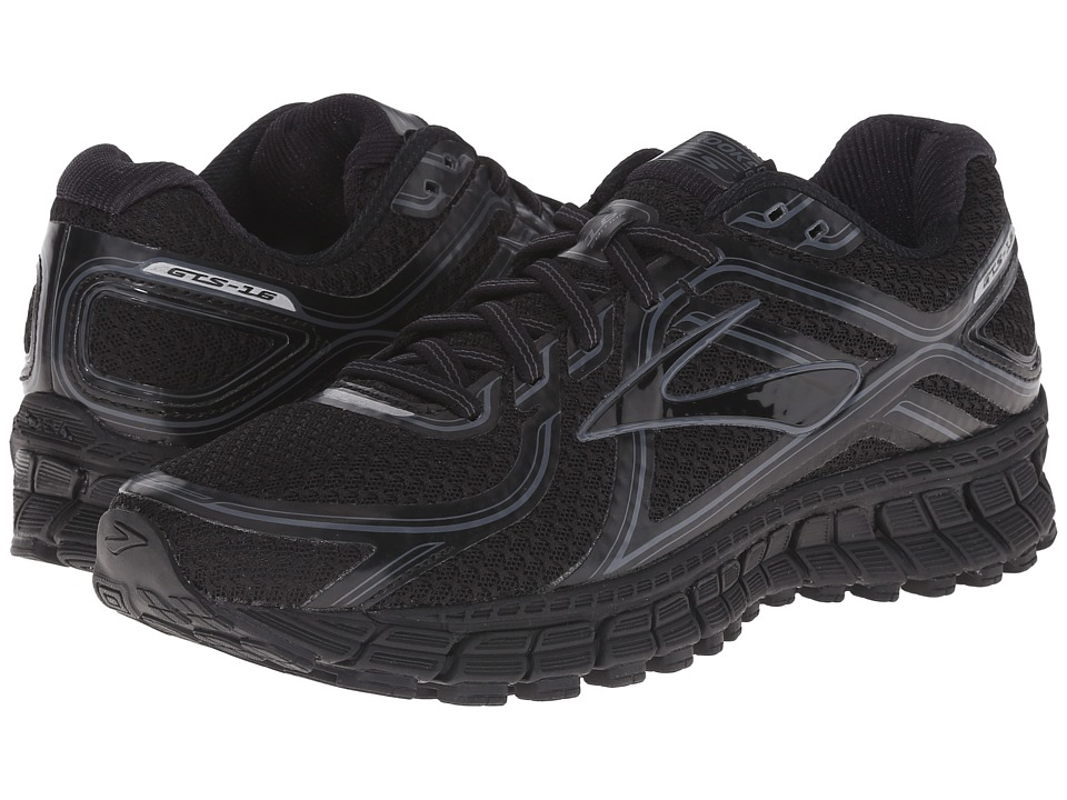 Brooks - Adrenaline GTS 16 (Black/Anthracite) Women's Running Shoes