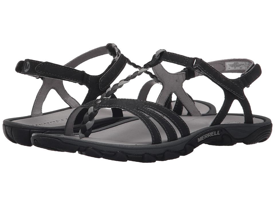 Merrell - Enoki Twist (Black) Women's Shoes