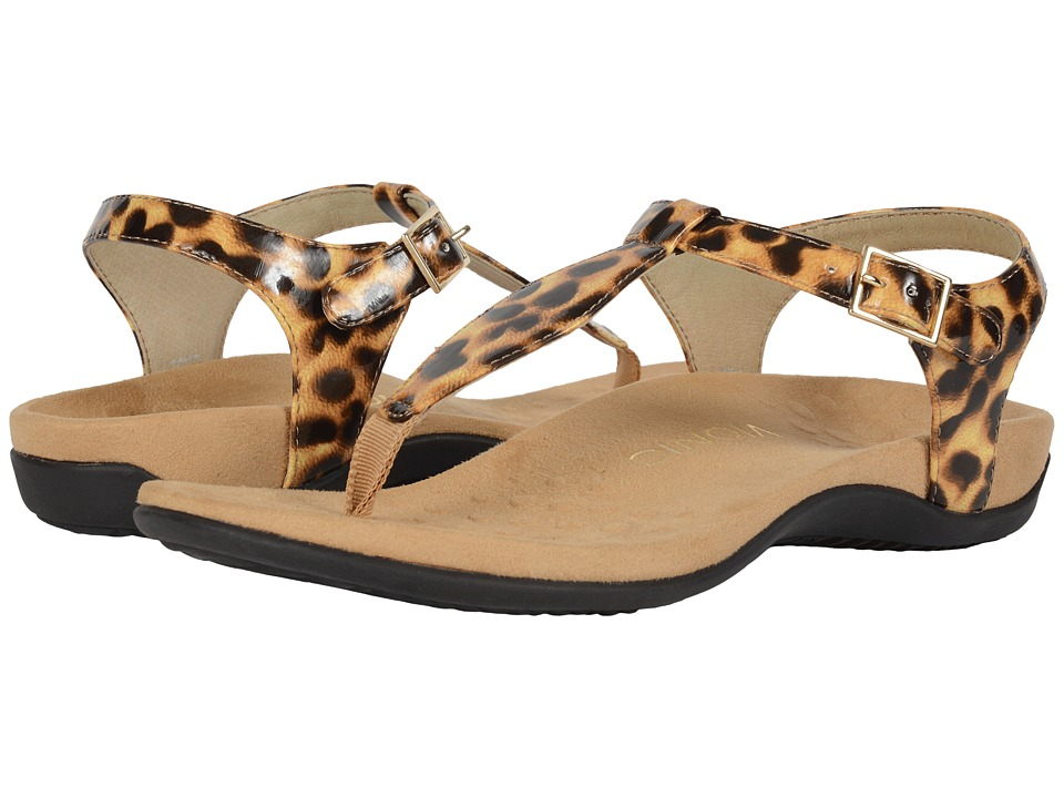 VIONIC - Paden (Tan Leopard) Women's Sandals
