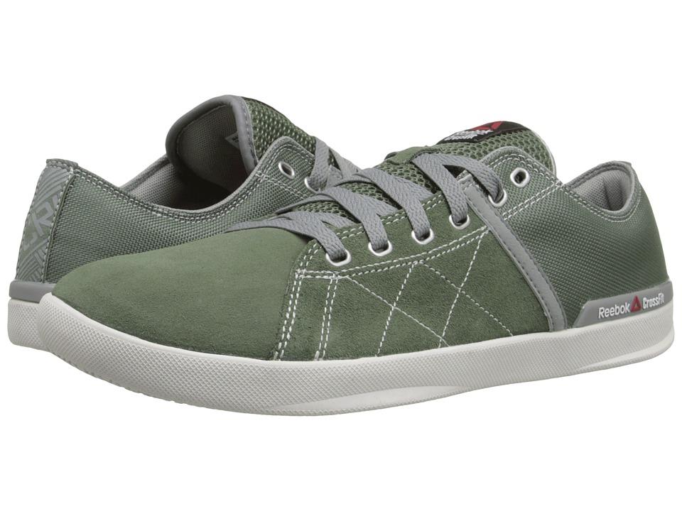 Reebok - RCF Lite LO TR Poly (Silvery Green/Flat Grey/Porcelain) Men's Shoes