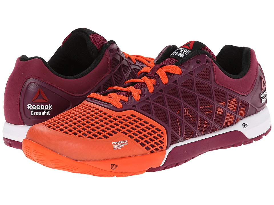 Reebok - Crossfit Nano 4.0 (Flu Orange/Rebel Berry/White) Women's Cross Training Shoes
