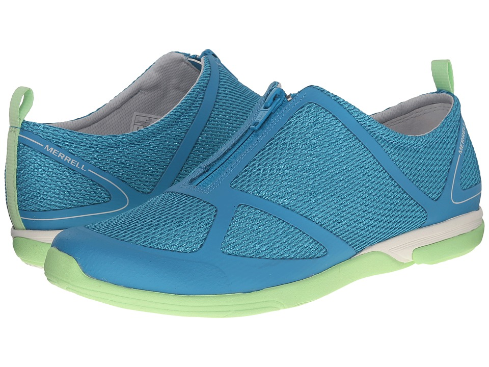 Merrell - Ceylon Sport Zip (Teal) Women's Shoes
