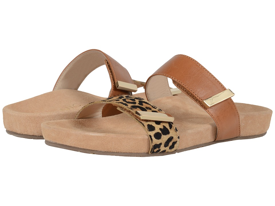 VIONIC - Grace Jura (Tan Leopard) Women's Sandals