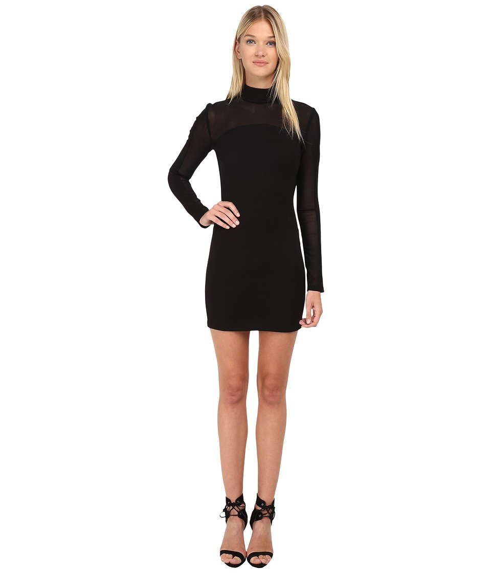 Pierre Balmain - Mesh Cutout Dress FP33480 (Black) Women's Dress