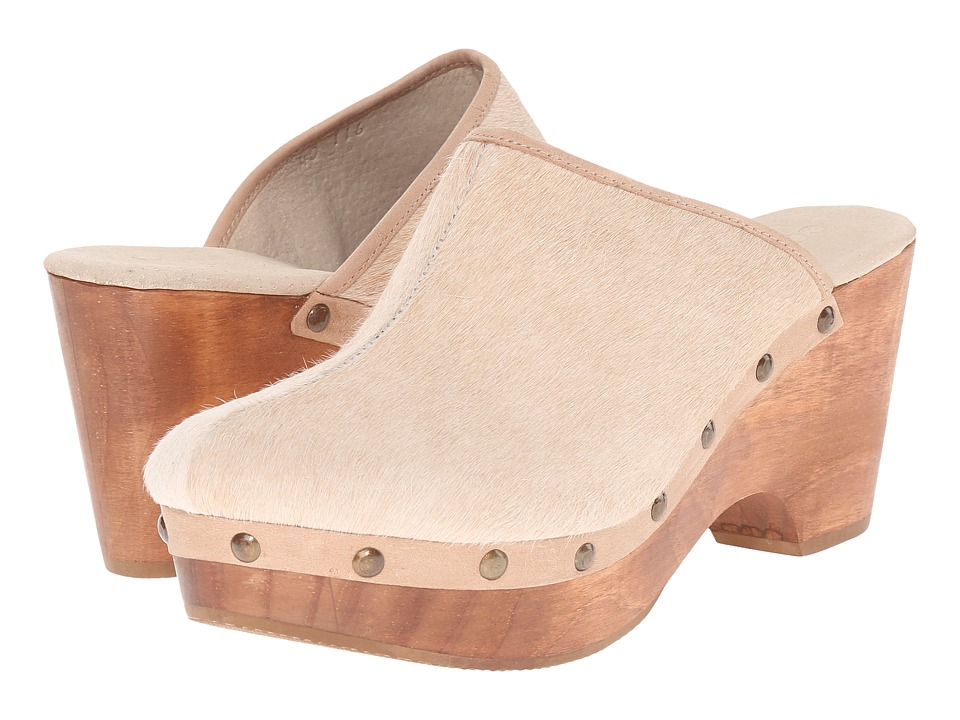 Cordani - Zorba (Nougat Cow Hair) Women's Clog Shoes