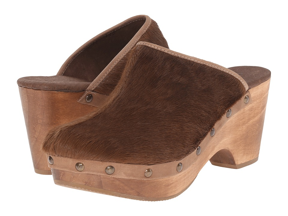 Cordani - Zorba (Taupe Cow Hair) Women's Clog Shoes