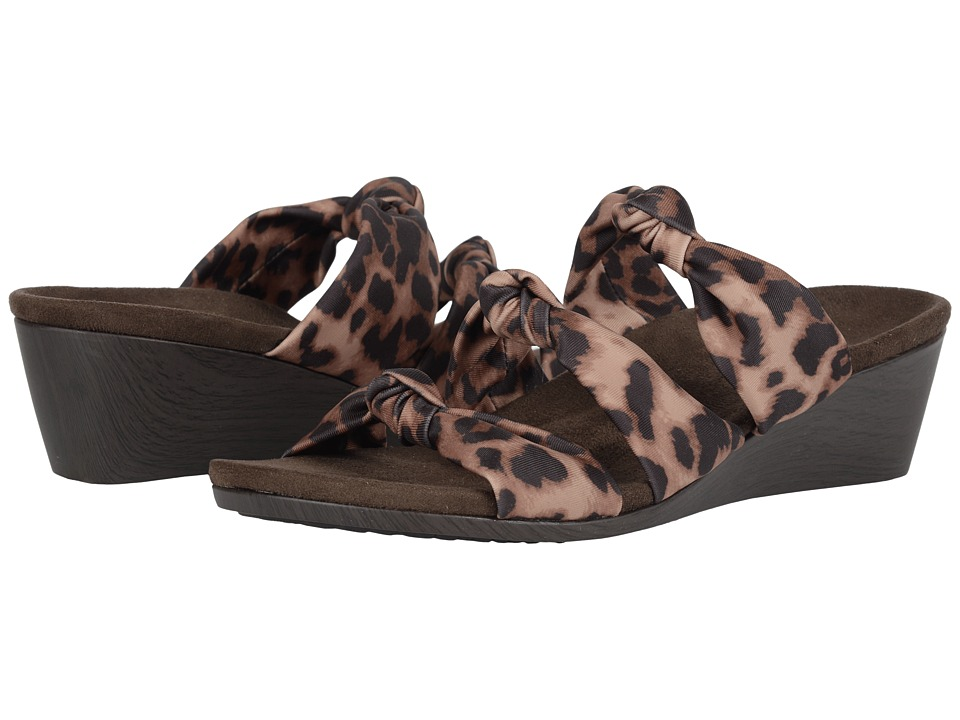 VIONIC - Rizzo (Tan Leopard) Women's Sandals