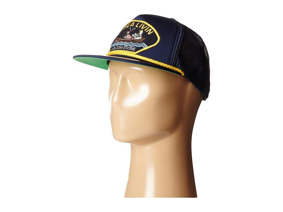 Volcom - Esea Livin Chese Hat (Navy) Caps