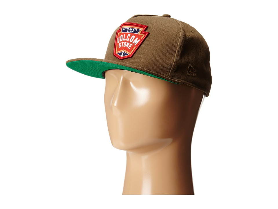 Volcom - Brewer Adjust Hat (Teak) Caps