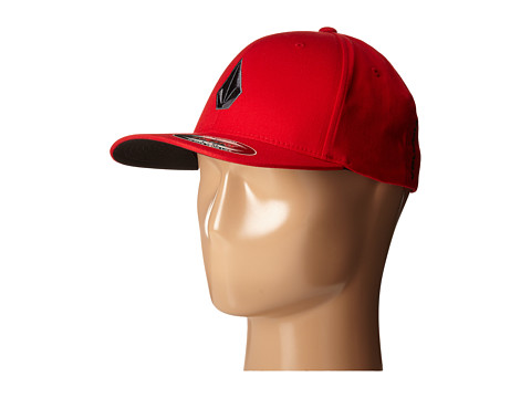 Volcom - Full Stone X-Fit FlexFit (Firecracker) Baseball Caps