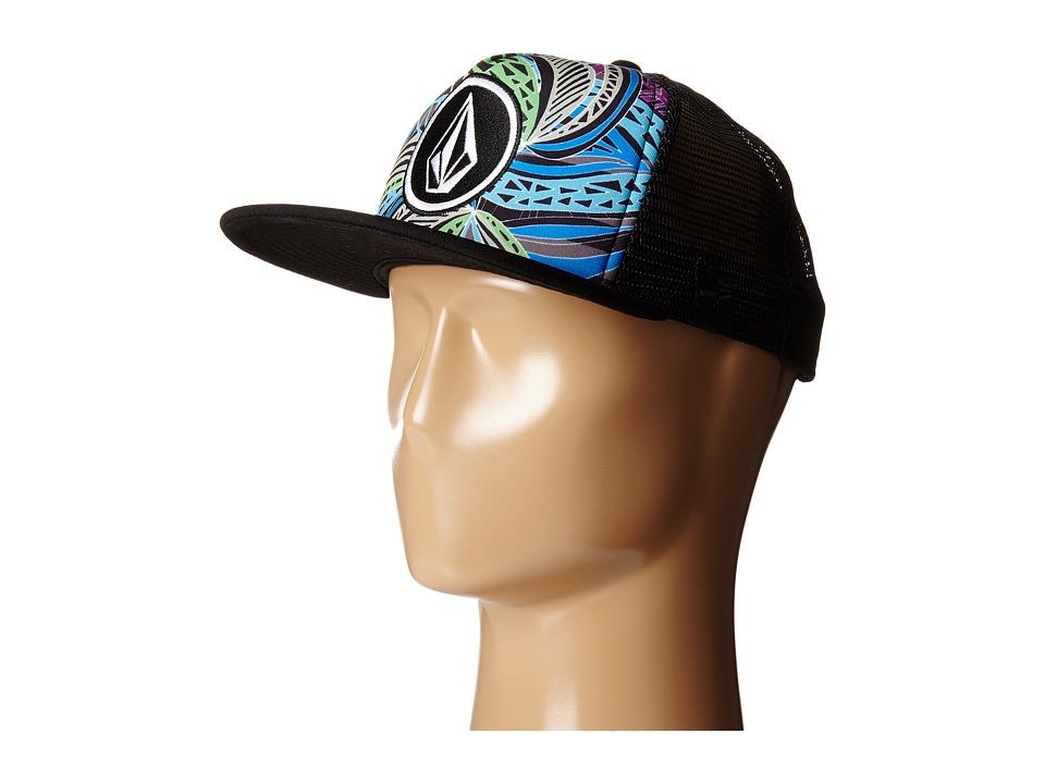 Volcom - Coast Print (Tidal Blue) Baseball Caps