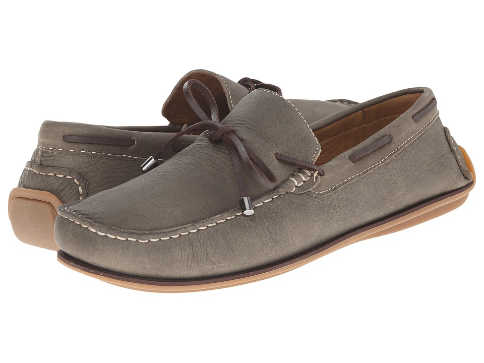 Massimo Matteo - Lace Slip-On (Olive) Men's Slip on Shoes