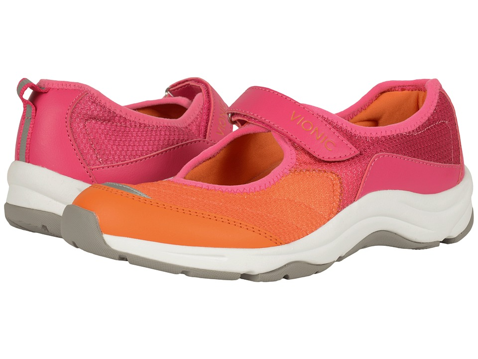 VIONIC - Action Sunset Mary Jane (Pink/Orange) Women's Maryjane Shoes